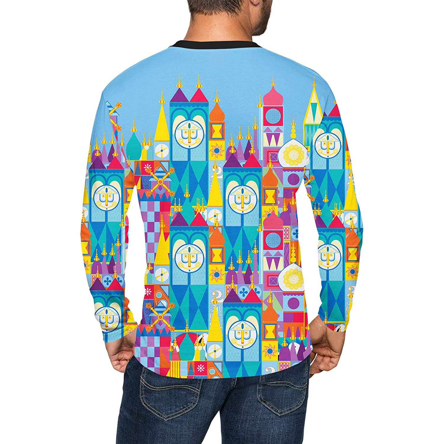 Its A Small World Disney Parks Inspired Mens Longsleeve Tee
