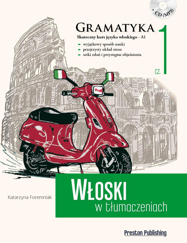 Wloski w tlumaczeniach Gramatyka Czesc 1