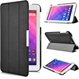 Acer Iconia One 7 B1-780 case, KuGi ® Acer One 7 B1-780 case - High quality ultra-thin Smart Cover Case for Acer Iconia One 7 B1-780 Tablet.(Black)