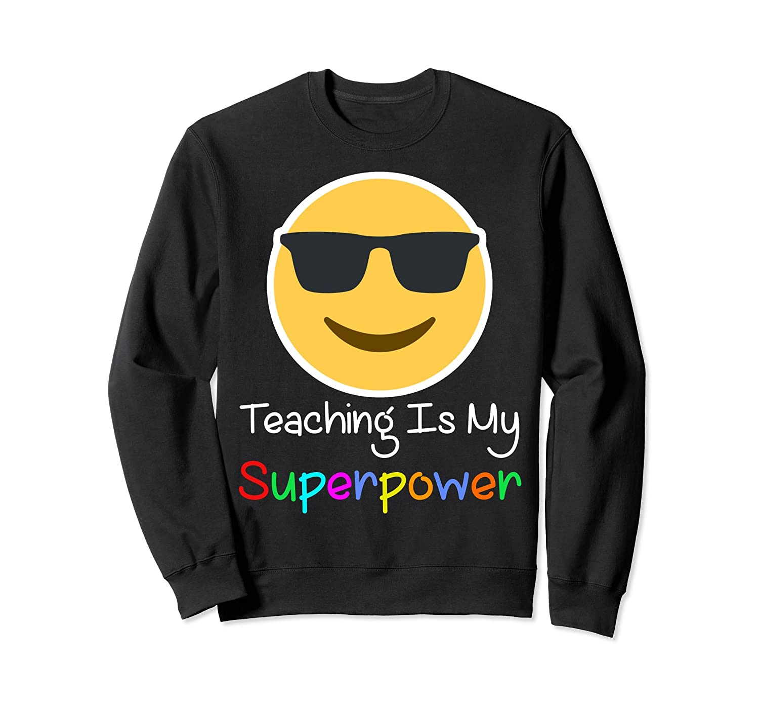 Teaching Is My Superpower shirt for cool teacher hearts love-TH
