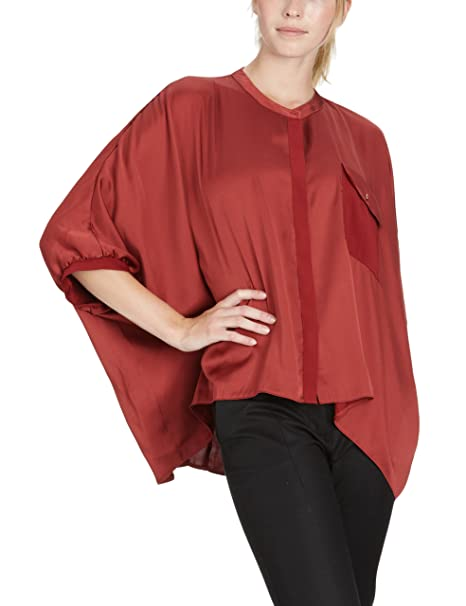 Part Two Blusa para mujer, talla 40, color Rojo (Active Red 518)