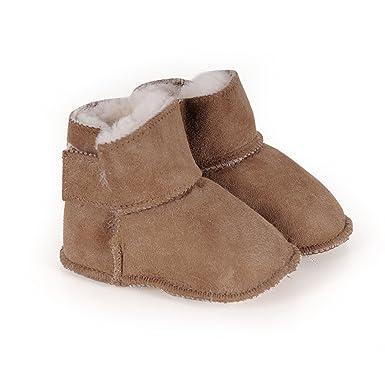 buy online a2f71 58836 Lammfell-Babyschuhe braun: Amazon.de: Bekleidung