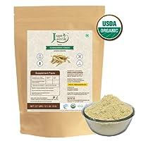 Just Jaivik Organic Ashwagandha Powder (Withania Somnifera), 227g