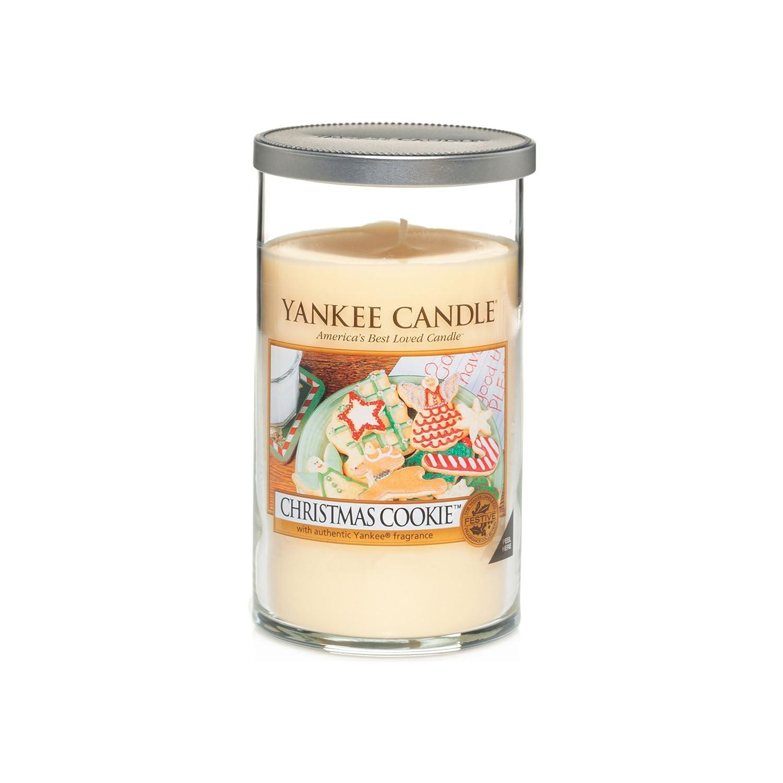 Yankee Candle Medium Tumbler Jar Candle, Christmas Cookie: Amazon ...