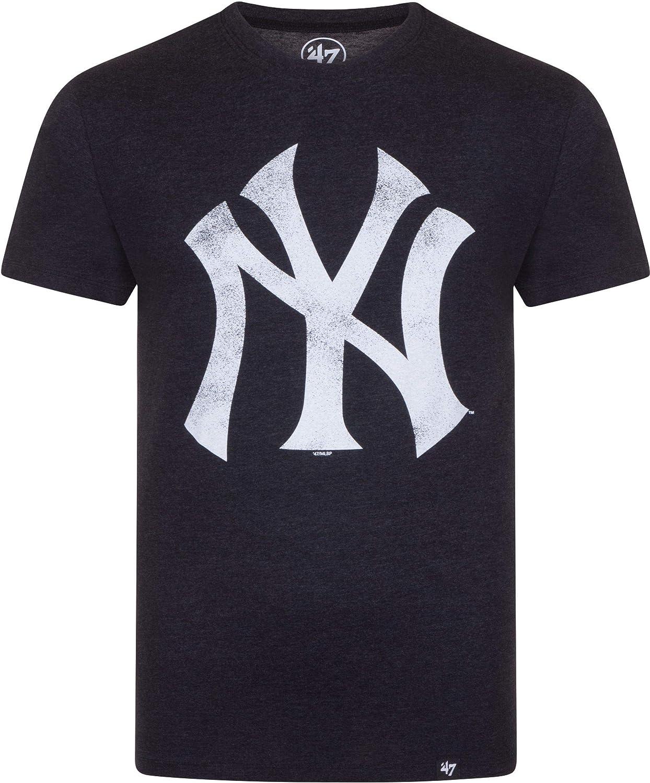 Nnew York Yankees MC Noir Tee Shirt Manches Courtes 47 Brand