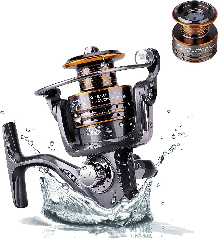 Plusinno carretes de la pesca de la serie TM Hongying Spinning ...
