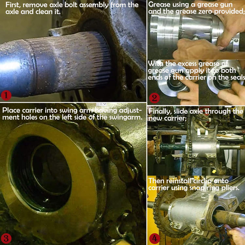 Rear Axle Bearing Carrier for TRX400EX// TRX 400 EX//TRX 400 X 1999-2014