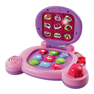 VTech Baby's Learning Laptop, Pink: Toys & Games
