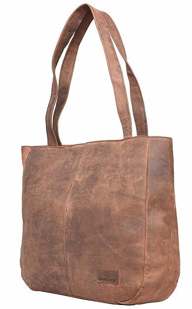 083ac0f19854 LEADERACHI Women s Leather Muskat Messenger Bag  Amazon.in  Shoes ...