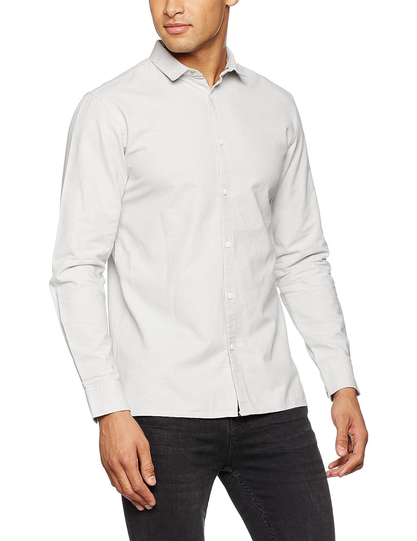 JACK /& JONES Jcoweel Shirt L//S Noos Camisa Uomo