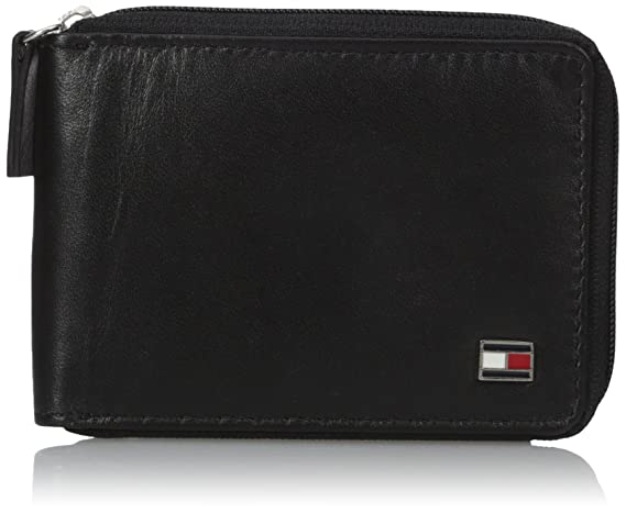 1679a10bc5e Tommy Hilfiger Black Men's Wallet: Amazon.in: Bags, Wallets & Luggage
