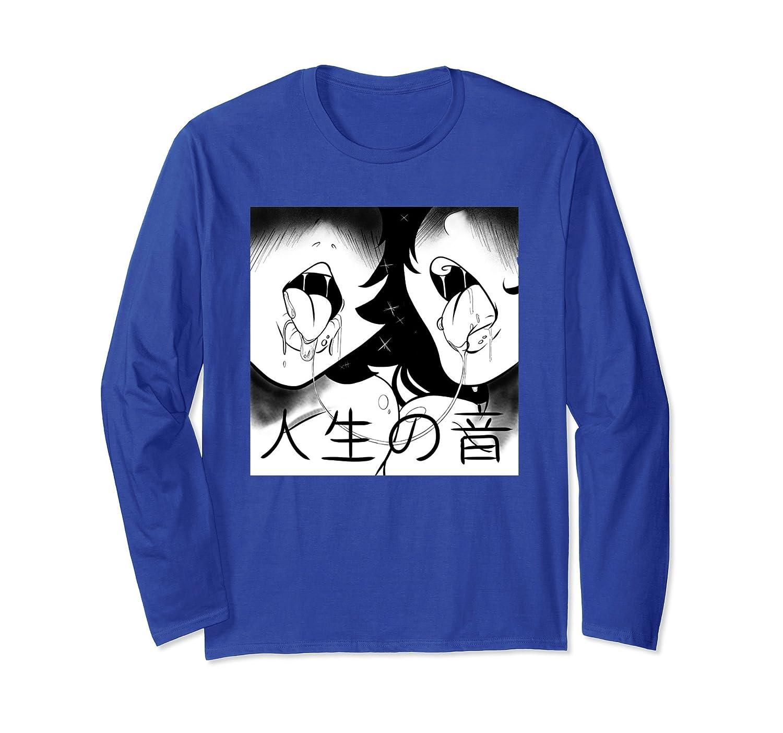 Japanese Lewd Girls Hentai Shirt-mt