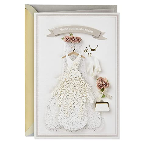 Amazon.com: Hallmark - Tarjeta de compromiso para boda ...