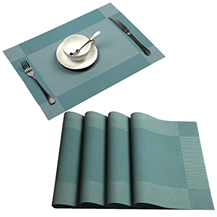 Amazon.com: Placemat, UArtlines Crossweave Salvamantel ...