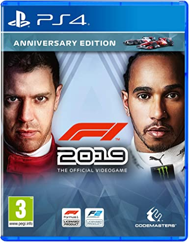 F1 2019 - Anniversary Edition (PS4) - PlayStation 4 [Importación ...