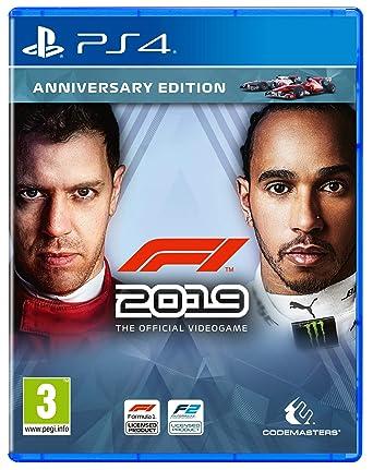 F1 2019 - Anniversary Edition (PS4) (PS4): Amazon co uk: PC & Video