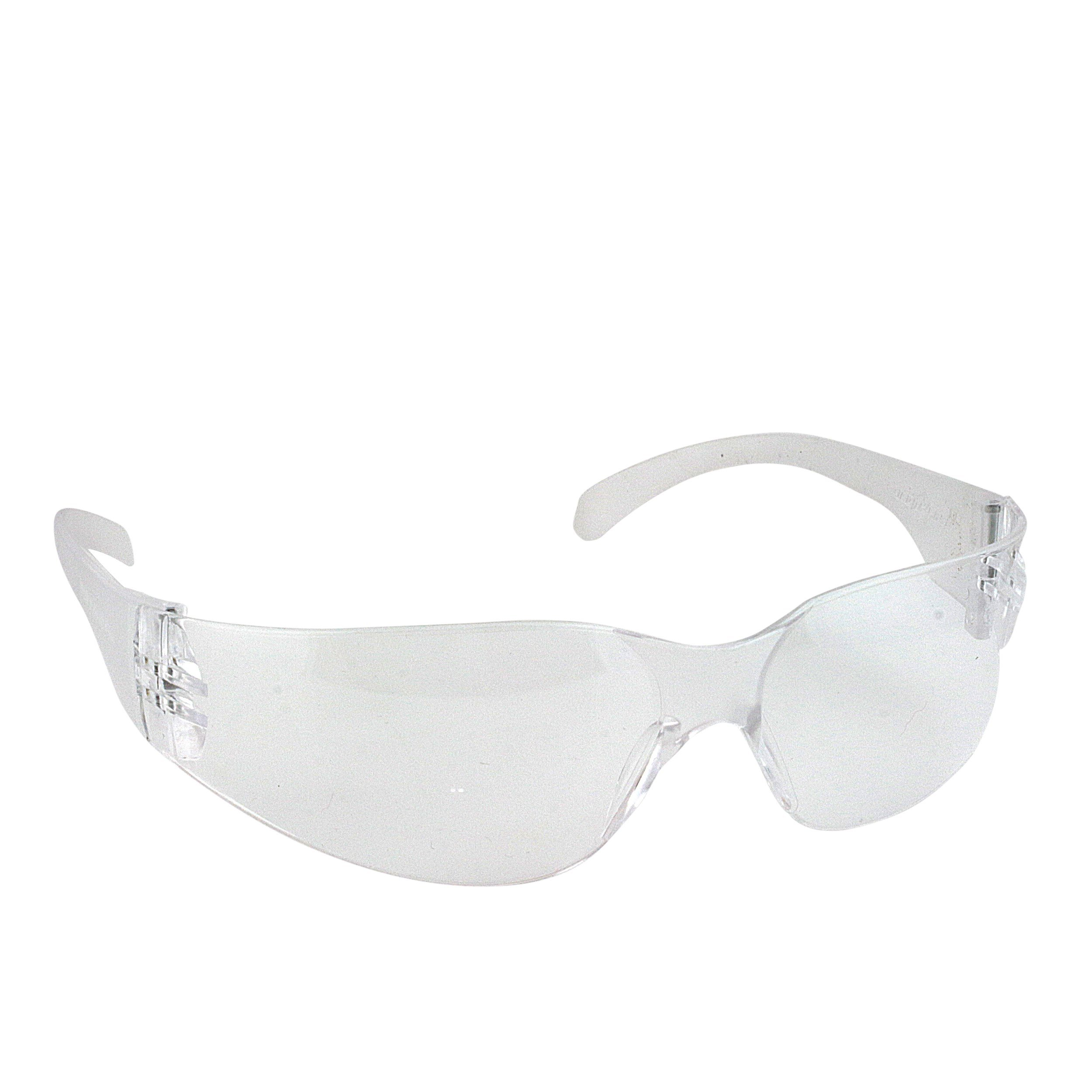 BISON LIFE Safety Glasses, One Size, Clear Polycarbonate Lens, 12 per Box (1 box) by BISON LIFE (Image #2)