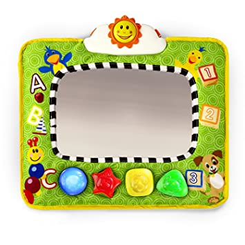 Amazon.com : Baby Einstein Music and Discovery Travel Mirror ...