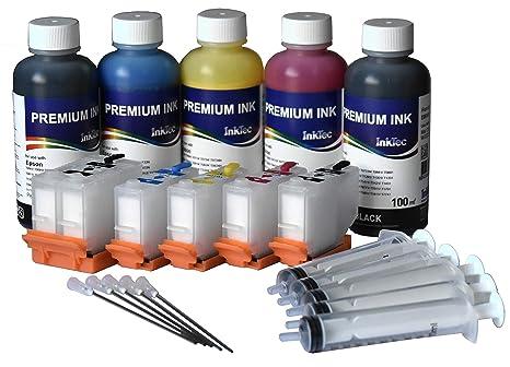InkTec - Cartuchos Recargables 202XL Autoreset Chip, 500 ml ...