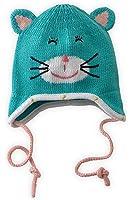 Joobles Organic Baby Earflap Cap - Kitty Katz (0-12 Months)