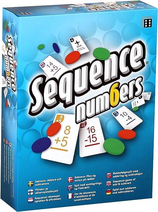 Juego de Mesa con números de Secuencia Winning Moves: Amazon.es ...