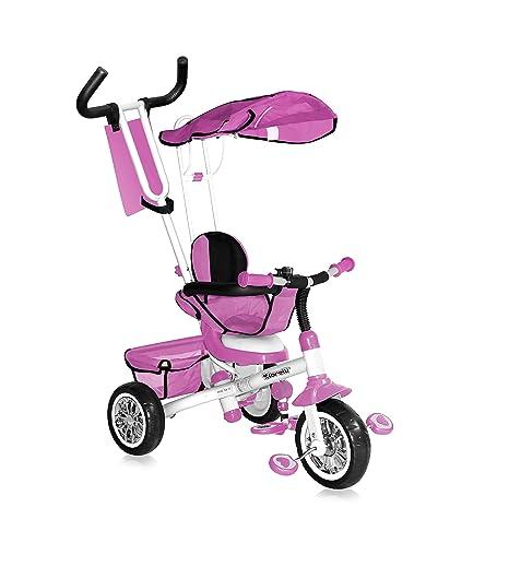 Lorelli B301B triciclo evolutivo para bebés/niños de 1 a 4 años, de color