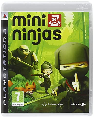 Eidos Mini Ninjas - Juego (PlayStation 3, Acción / Aventura ...