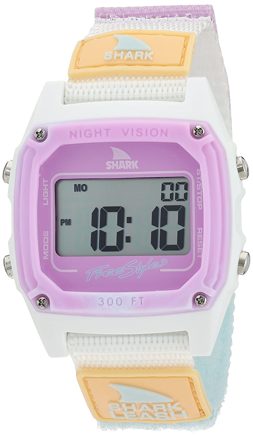 Freestyle Shark Japanese-Quartz Sport Watch with Nylon Strap, White, 20 (Model: 10026835