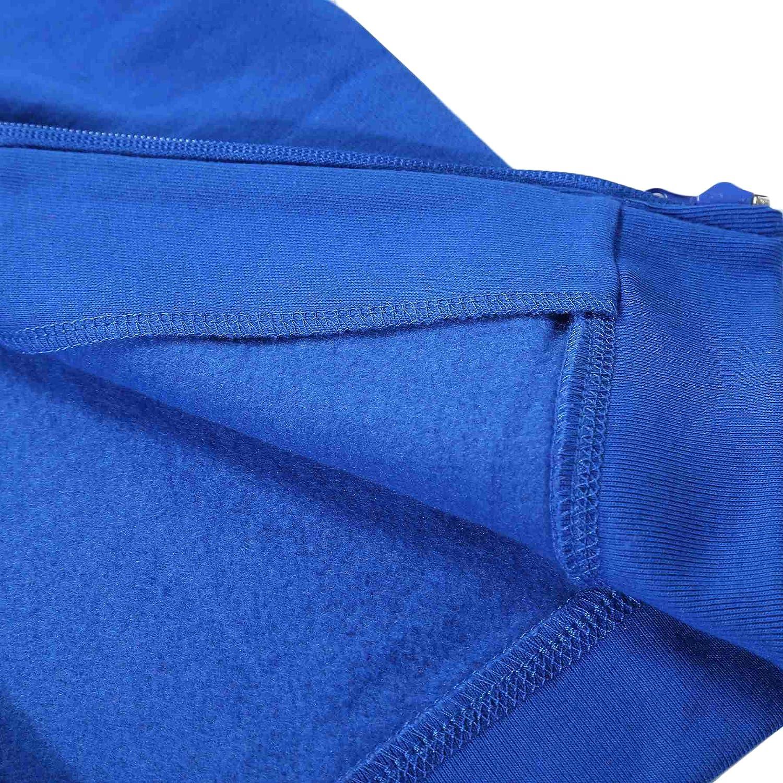 Bienzoe Boys Anti-Pilling Soft Fleece Zip-Up School Uniform Hoodie