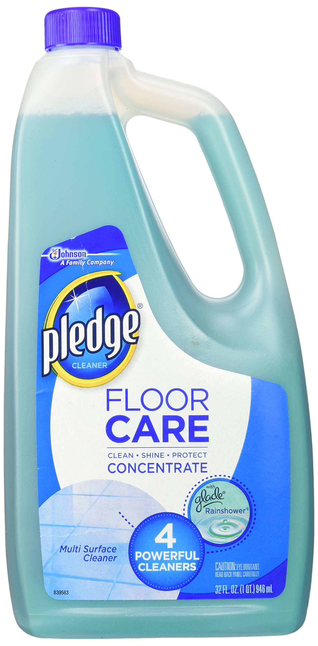 Pledge Multi-Surface Concentrated Floor Cleaner 32 Ounce, 1-Pack