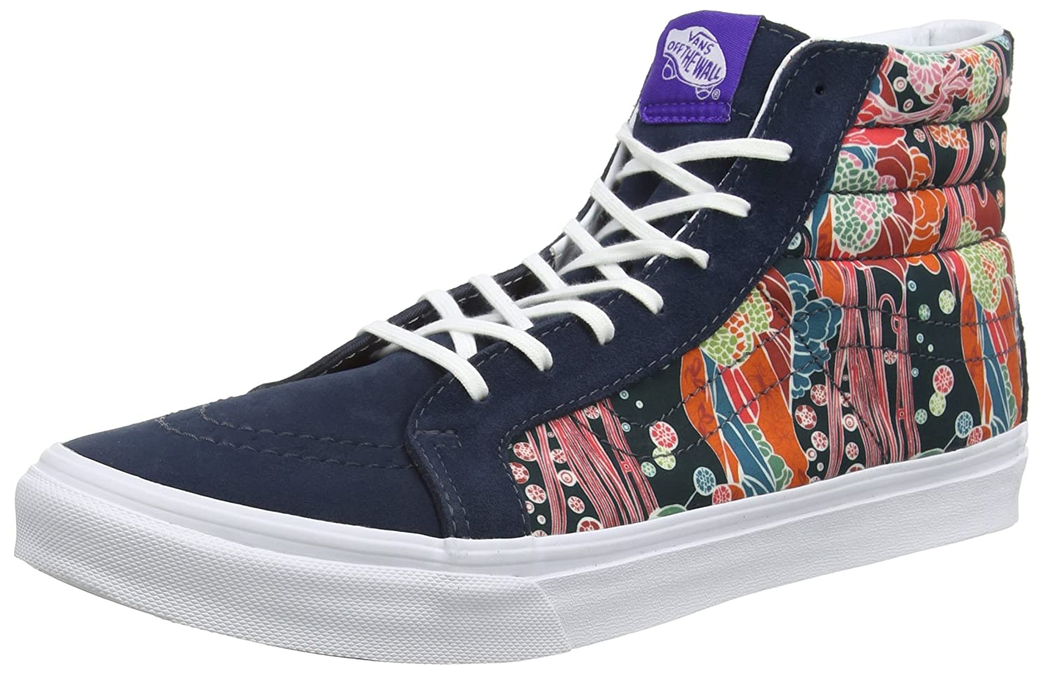 Vans Unisex-Erwachsene Sk8-Hi Slimv18i High-Top  42 EU|Mehrfarbig (Liberty/Sea Floral/True White)