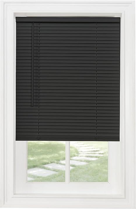Achim Home Furnishings Cordless GII Morningstar 1 Light Filtering Mini Blind 45 x 64 White Width: 45inch Length 64inch Drop