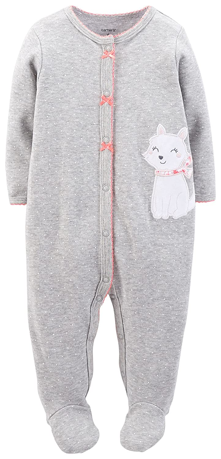 Baby Kitty Carters Baby Girls Graphic Footie
