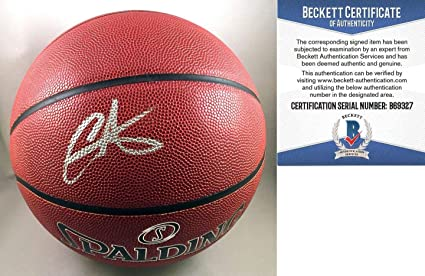 3bc018be9dbd Image Unavailable. Image not available for. Color  New York Knicks Carmelo  Anthony Autographed Signed Memorabilia Basketball ...