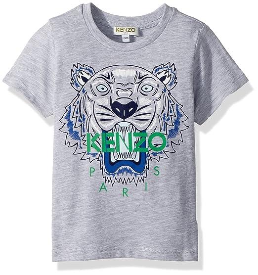 822d5dd3fd39 Amazon.com  Kenzo Kids Womens Tee Shirt Classic Tiger (Toddler Little  Kids)  Clothing