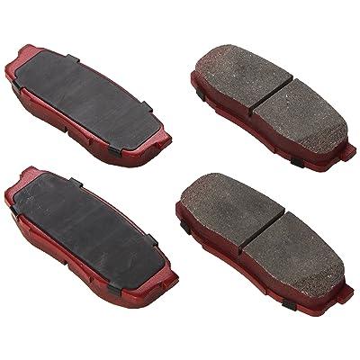 Genuine Toyota Parts PTR09-0C110 TRD Rear Performance Brake Pad: Automotive