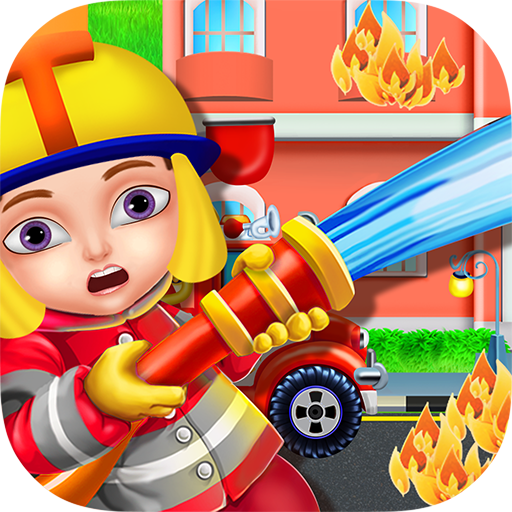 Firefighters Fire Rescue Kids - Free & Fun Game to learn firefighting & join the firemen task of saving lives!