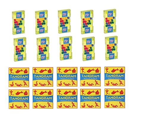Virgo Toys Matchup & Tangram (Combo) - Pack of 10