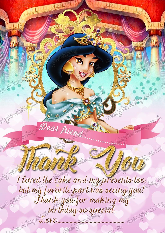Las niñas Disney Princess Jasmine Princesa Fiesta de ...
