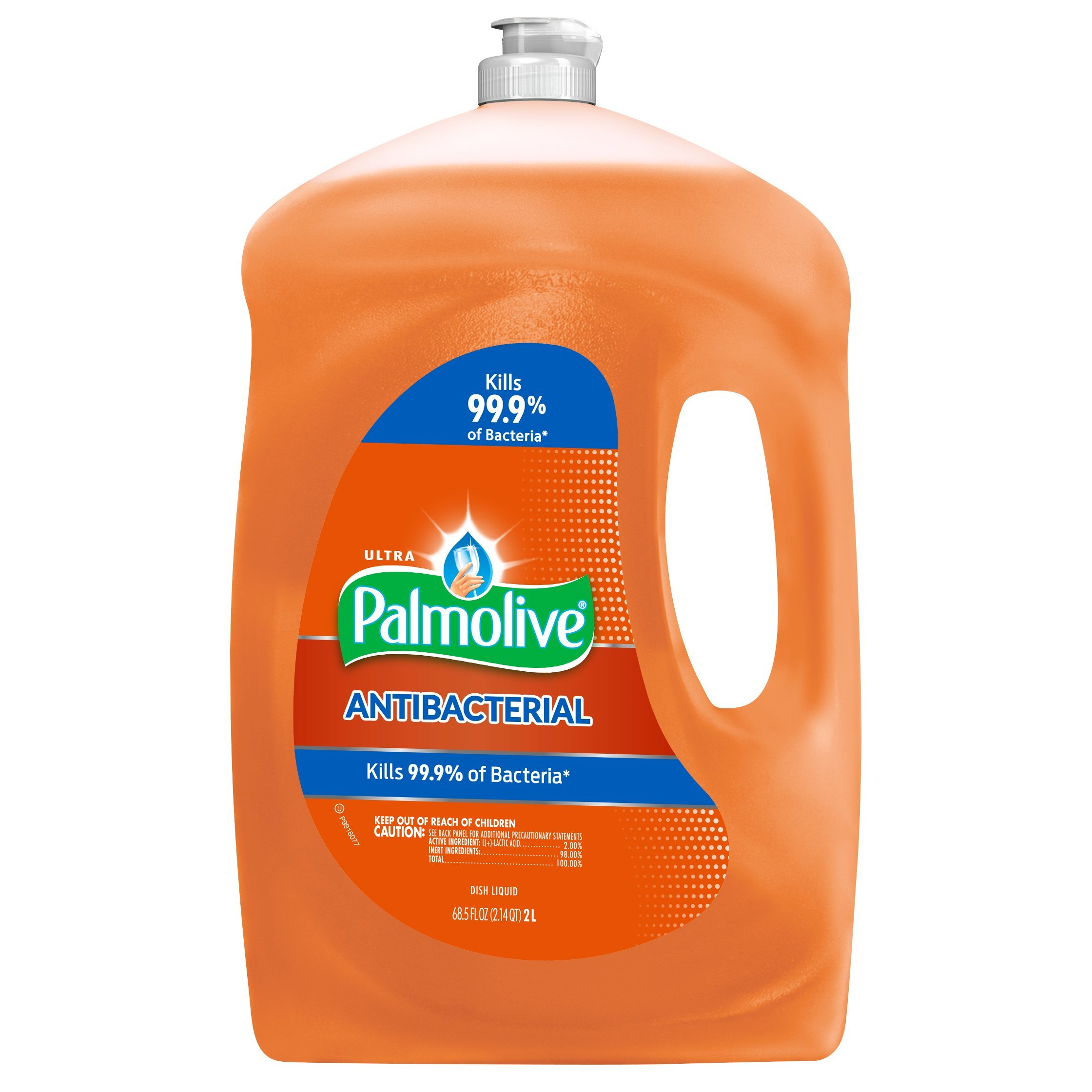 Palmolive Ultra Liquid Dish Soap, Antibacterial - 68.5 Fluid Ounce (4 Pack)