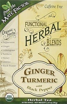 The Mate Factor Herbal Turmeric Tea