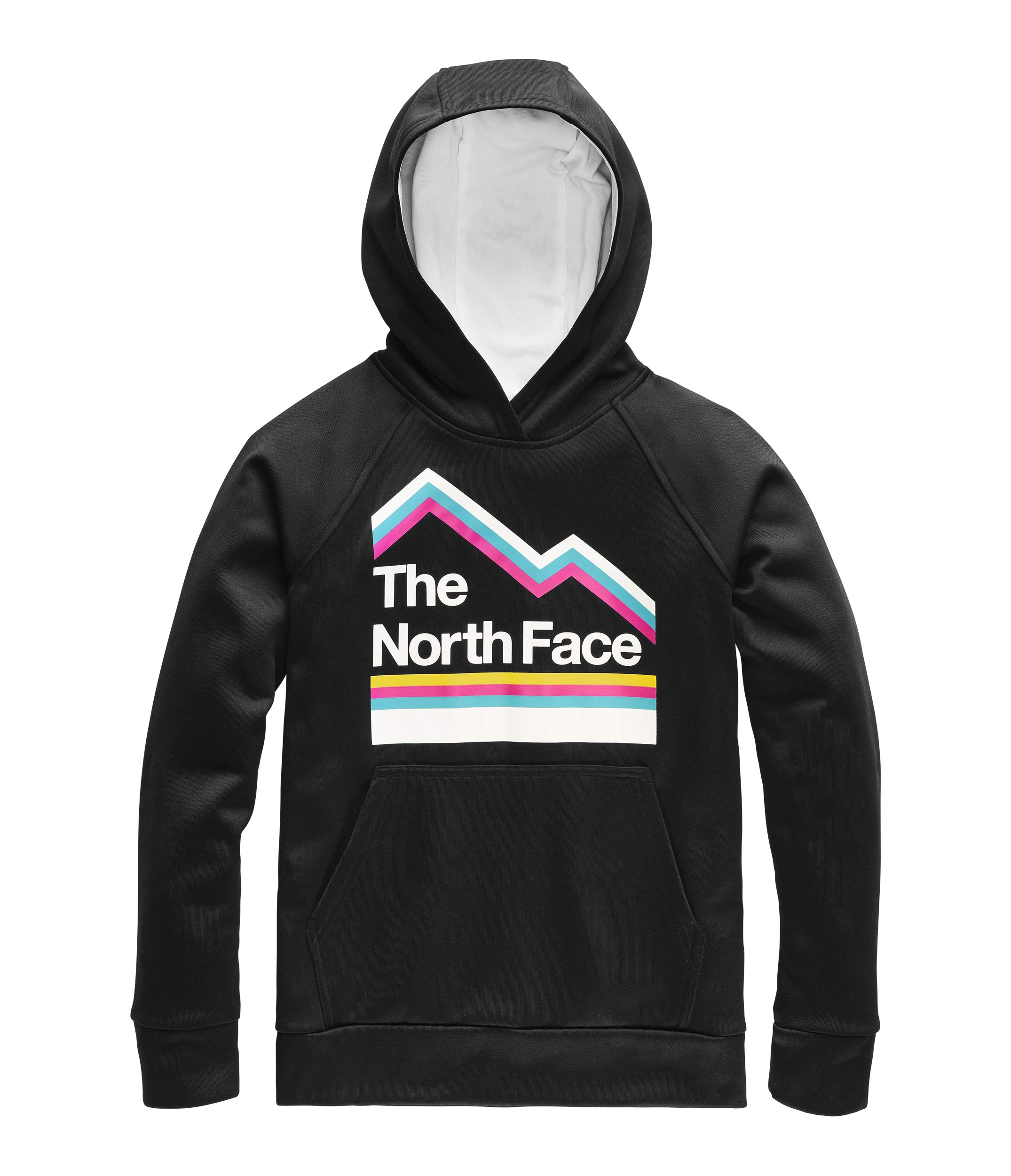 The North Face Kids Boy's Surgent 2.0 Pullover Hoodie (Little Kids/Big Kids) TNF Black/TNF White Medium