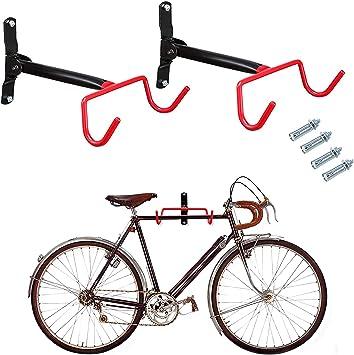 IZTOSS - Soporte de Pared para Colgar Bicicletas en Garaje o ...