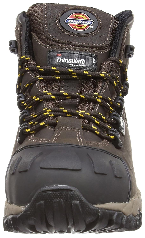 dickies Chaussure Montantes Medway Haute s/écurit/é S3 UK 6.5 Couleur:Noir;Pointure:40