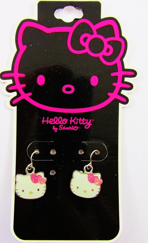 Hello Kitty Ohrringe, für Ohrlöcher