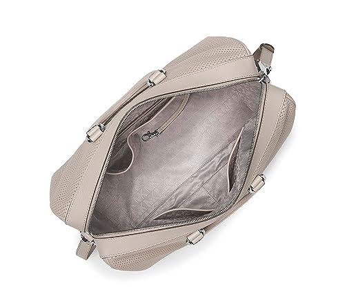 27a8de2e54cd9d Amazon.com: MICHAEL Michael Kors Libby Large Gym Bag Cement: Shoes