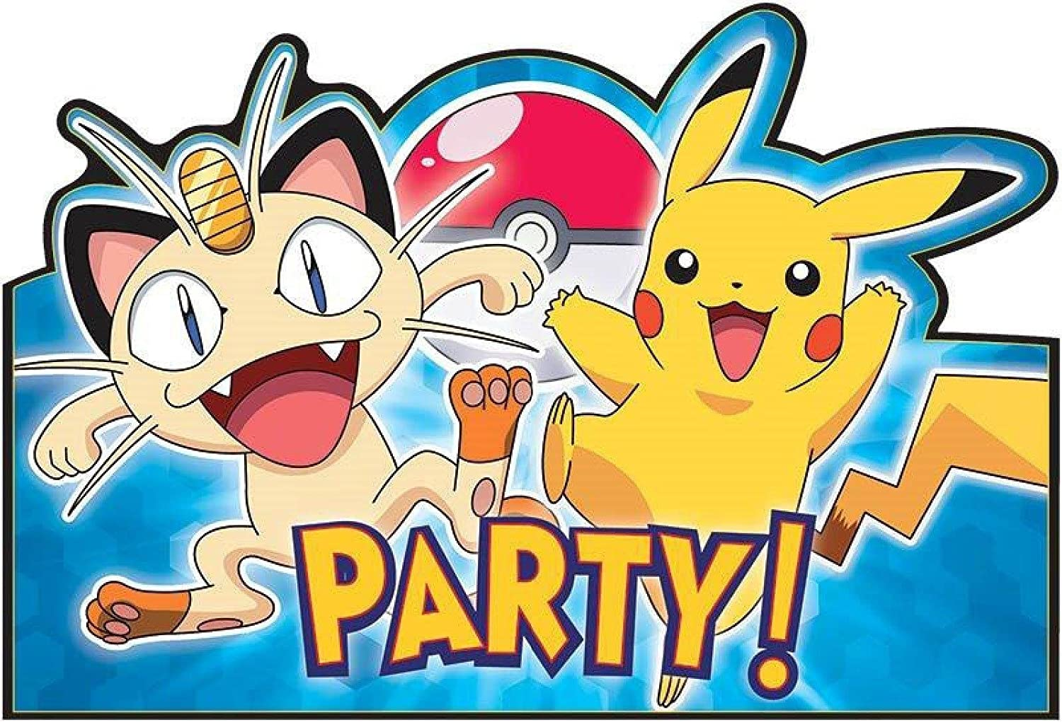 Pokemon Party Invitations with adorable invitations layout
