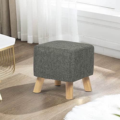 Homebeez Square Ottoman Foot Rest Step Stool