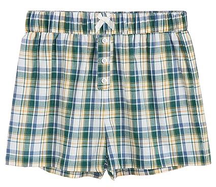 aa126dc545 Latuza Women s Sleepwear Cotton Plaid Pajama Boxer Shorts at Amazon ...