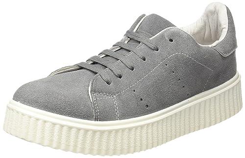 COOLWAY Betty, Zapatillas para Mujer, Gris (Grey), 39 EU: Amazon.es: Zapatos y complementos